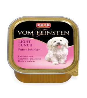 Karma mokra dla psa Animonda Dog Vom Feinsten Light Lunch Indyk z Szynką 150g
