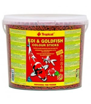 Tropical Koi Goldfish Colour Sticks 11L/900g