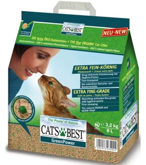 Cat\'s Best Green Power 8L - rabat 30%